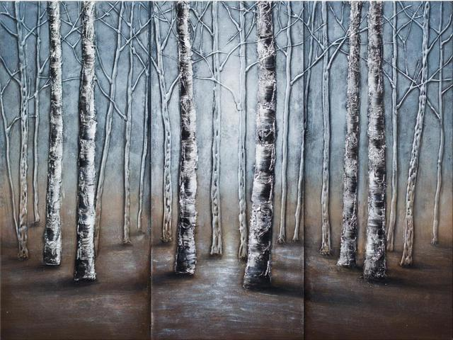 Whispering woods painting