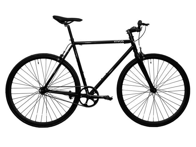 "Vivos Bike Co. ""Vida"" Complete Chromoly Steel Commuter / Singlespeed / Fixed Gear Bike 58 cm"