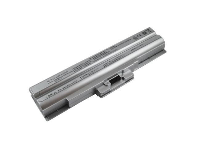VGP-BPS13A/S - Sony Vaio VGN-AW/CS/FW/NW/SR Series 6-cell Battery (Silver)