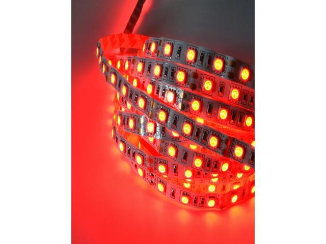 Red 5M 5050 SMD Non-proof 300 LED Strip Lighting DC DIY Party Clubs Car Lights
