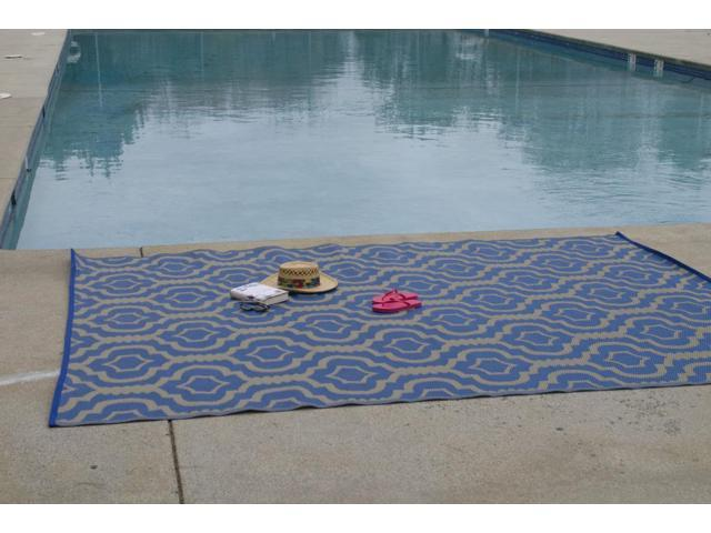 Homesuite Outdoor 8x10 Rug with Bonus 3x5 Runner Trellis