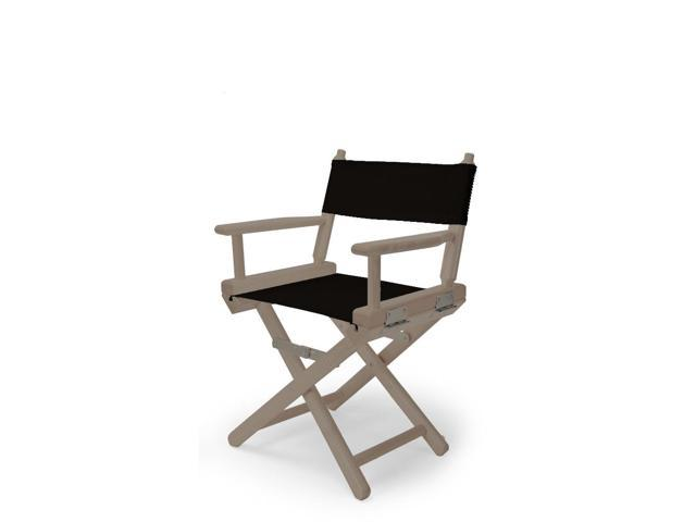 Counter Height Chair Covers : ... World Famous Director Chair- Counter Height - Black Cover - Newegg.com