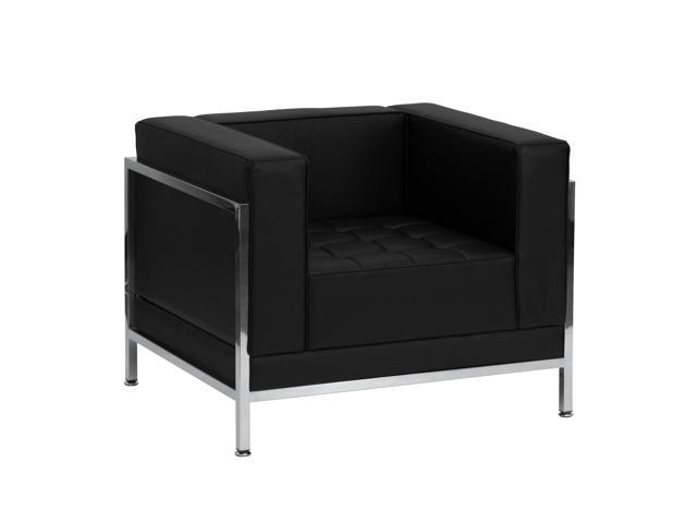Imagination Series Black Leather Chair by Flash Furniture