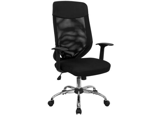 Flash Furniture High Back Mesh Office Chair with Mesh Fabric Seat [LF-W952-GG]