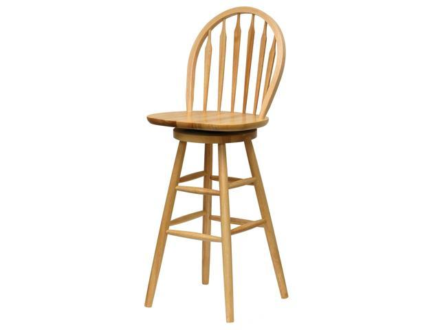 Beech 29 Windsor Swivel Stool