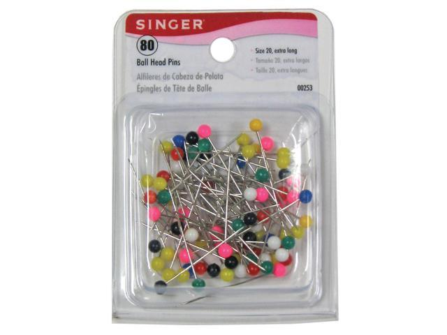 Singer Headpin X-Lng 80Ct 2901-1152