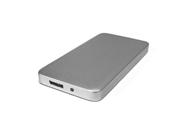 Shadow Mini External 1TB (1 Terabyte) USB 3.0 Portable Solid State Drive SSD - Silver
