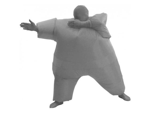Inflatable Chub Suit Costume - Gray