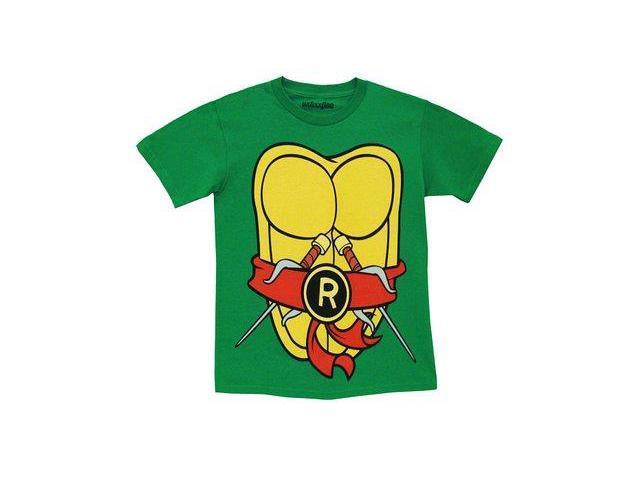 Tmnt teenage mutant ninja turtles michelangelo costume for Green turtle t shirts review