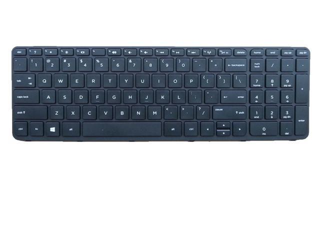 Igoodo® New US Layout Laptop Keyboard For HP Pavilion 15-r053cl 15-r063nr 15-r081nr 15-r082nr 15-r110dx 15-r131wm 15-r132wm 15-r138ca 15-r174ca 15-r181nr Black With Frame Notebook US
