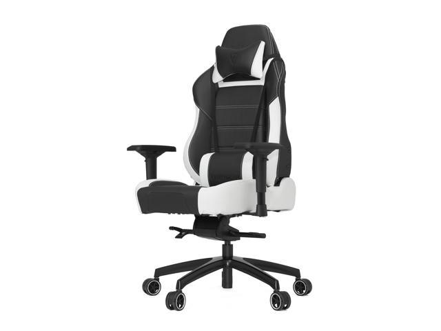 Vertagear Racing Series P-Line PL6000 Ergonomic Racing Style Gaming Office Chair - Black/White (Rev. 2)