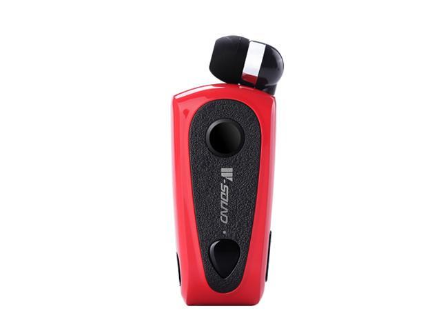 W-sound F900 Multipoint Retractable Clip Bluetooth Mono Headset (Red)