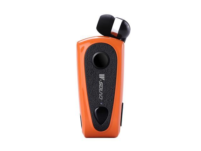 W-sound F900 Multipoint Retractable Clip Bluetooth Mono Headset (Orange)