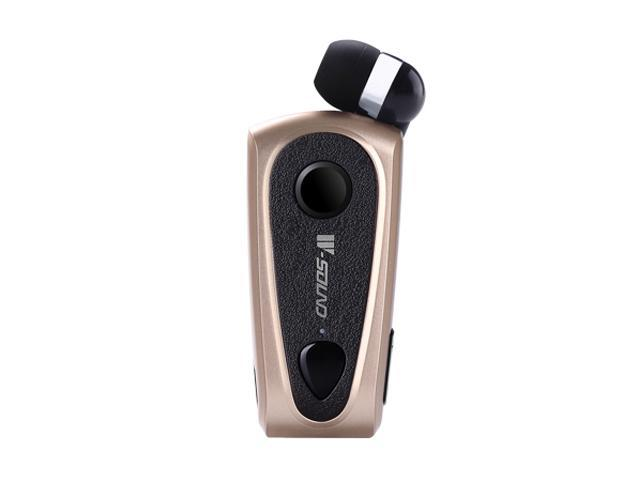 W-sound F900 Multipoint Retractable Clip Bluetooth Mono Headset (Gold)