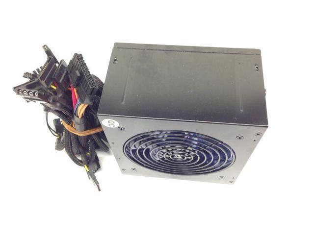 700W ATX Power Supply 120MM Fan PCI-E SATA 20 or 24 12V for AMD INTEL PC Blue LED