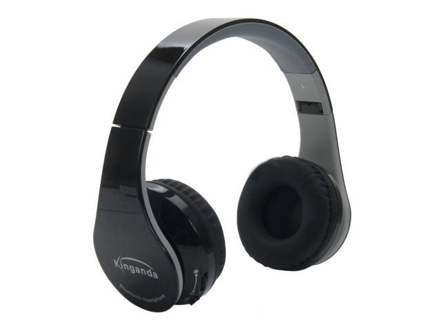bluetooth wireless stereo headset headphone with receiver usb for ps4 pc. Black Bedroom Furniture Sets. Home Design Ideas