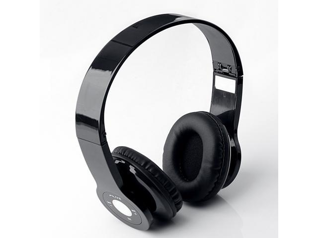 US Fast ship Wireless Stereo MIC Bluetooth Headphone for Iphone 4 4S 5 5C 5S Samsung Galaxy NOTE 2/3 S3 S4 S5 Nokia LG HTC Black