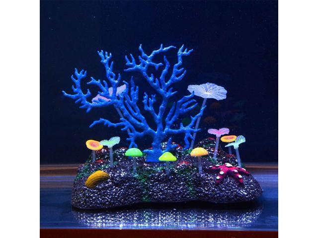 New aquarium decoration coral fashion large artificial for Artificial coral reef aquarium decoration inserts