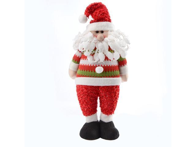2015 animated merry christmas dolls santa claus black for Animated santa claus decoration