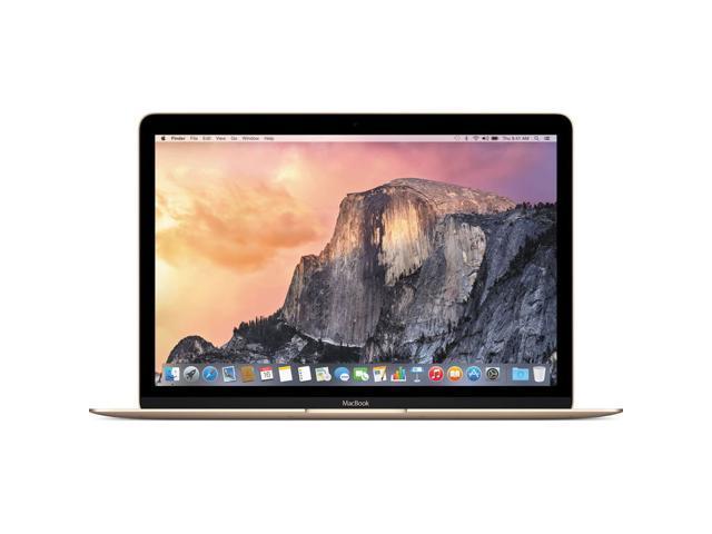 "Apple MacBook 12"" Retina IPS LED 1.1 GHz Intel Core M 8GB RAM 256GB PCIe Flash OSX-Yosemite - Gold (Custom Built)"