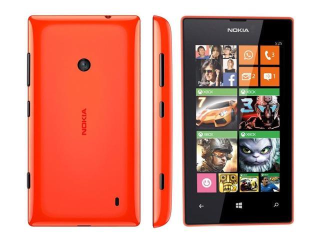 "Nokia Lumia 525 Orange RM-998 (FACTORY UNLOCKED) 4"" IPS ..."