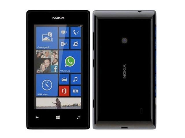 "Nokia Lumia 525 Black RM-998 (FACTORY UNLOCKED) 4"" IPS 8GB ..."