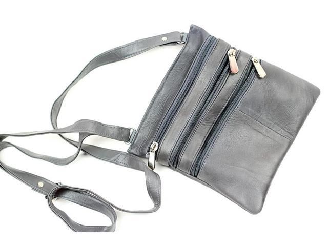 CHAMPS Genuine Leather Cross Body Bag