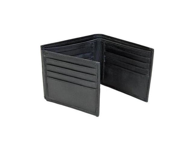 CHAMPS Leather Wallet - Bifold Left Wing Out