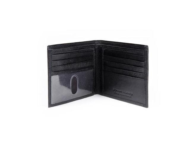 CHAMPS Skinny Leather Wallet - Bifold