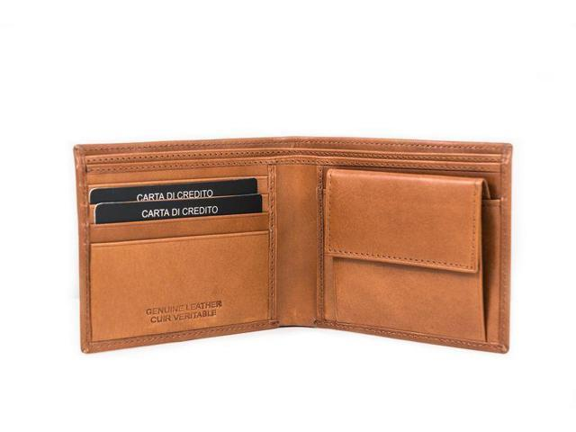 Urban Life Leather Wallet - Trifold Design