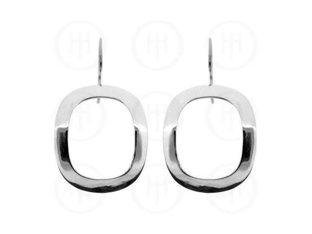 Sterling Silver Rectangulish Dangle Earrings