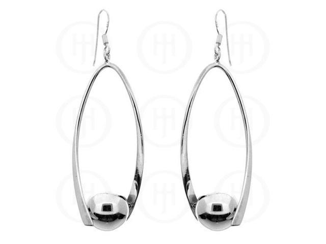 Sterling Silver Dangle Ball Earrings