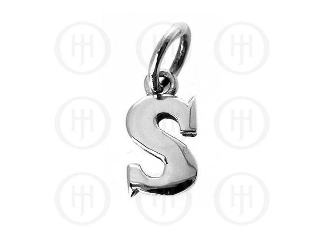 Sterling Silver Letter S  Alphabet-Number Charm