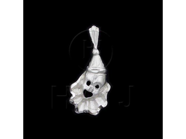 Sterling Silver DiamondCut Assorted Charm Clown
