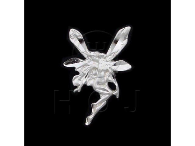 Sterling Silver DiamondCut Assorted Charm Fairy