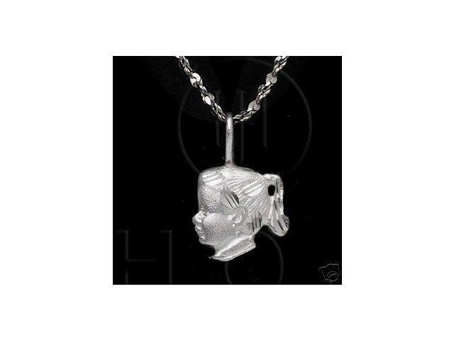 Sterling Silver DiamondCut Assorted Charm Girl