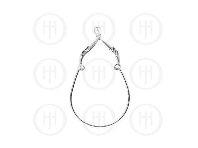 Sterling Silver Plain Charm