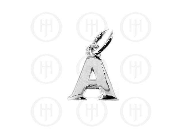 Sterling Silver Letter A Alphabet-Number Charm