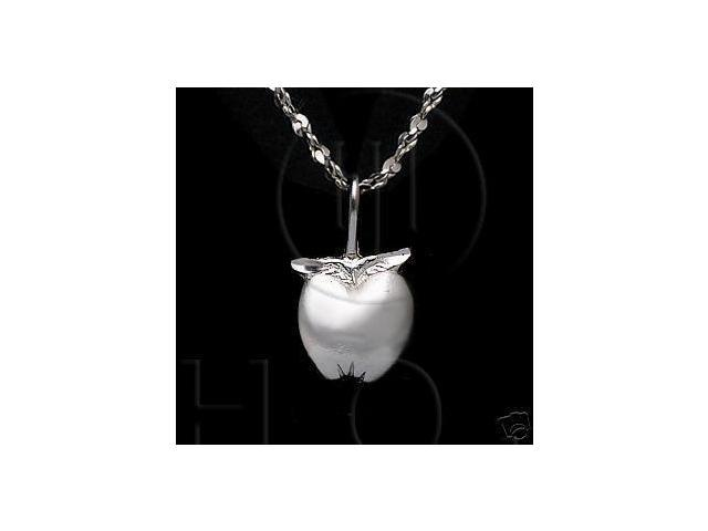 Sterling Silver DiamondCut Assorted Charm Apple