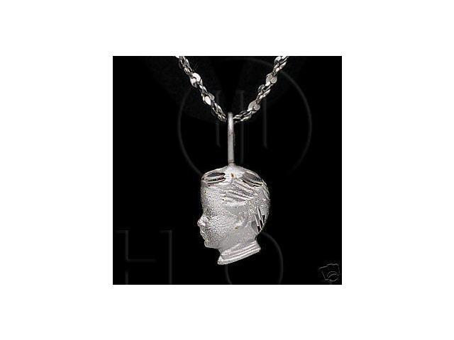 Sterling Silver DiamondCut Assorted Charm Boy