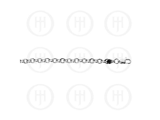 Sterling Silver Chain Rolo 05  22 inches