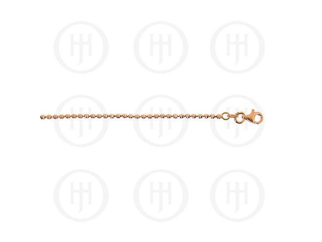 Sterling Silver Fancy Chain Assorted Rose Colour Ball Chain  1.5mm 20 inches