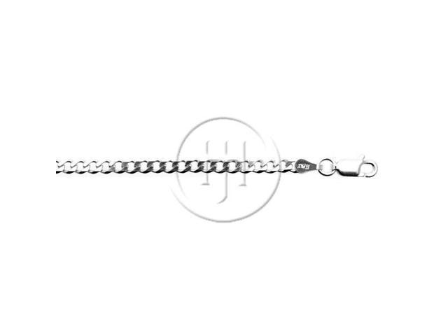 Sterling Silver Chain Curb 05  3.0mm 16 inches