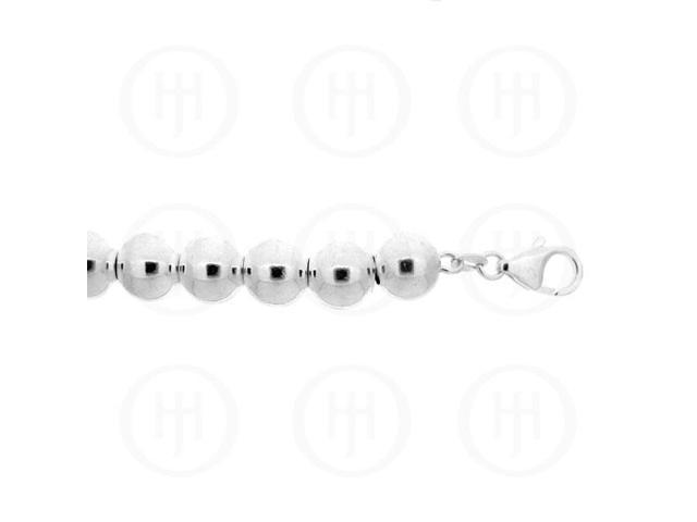 Sterling Silver Chain Ball 10  9.0mm 18 inches