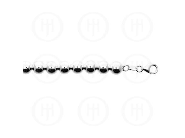 Sterling Silver Chain Ball 11  10.0mm 7 inches