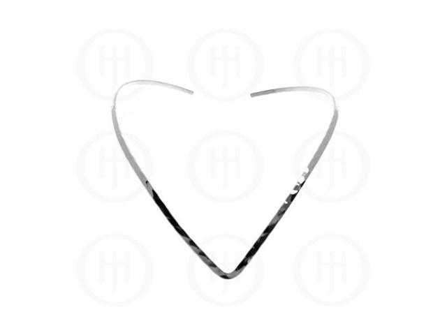 Sterling Silver Fancy Chain Choker  18 inches