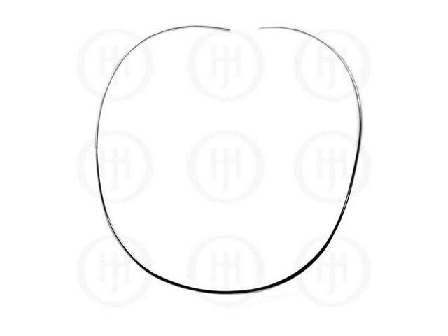 Sterling Silver Fancy Chain Choker 2mm  18 inches
