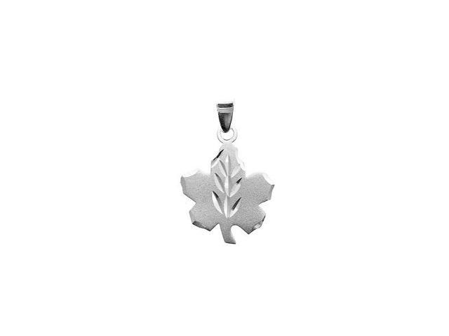 Sterling Silver Canadian Diamond Cut Pendant