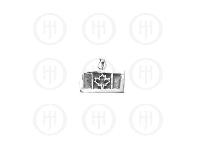 Sterling Silver Canadian Maple Leaf Pendant