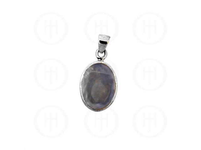 Sterling Silver Stone Labradorite Pendant